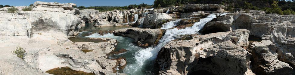 Ardèche Gard Vaucluse - Excursion Cascades du Sautadet Gard