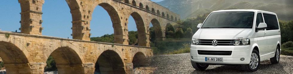 Général - Excursion et Transfert Pont du Gard site UNESCO