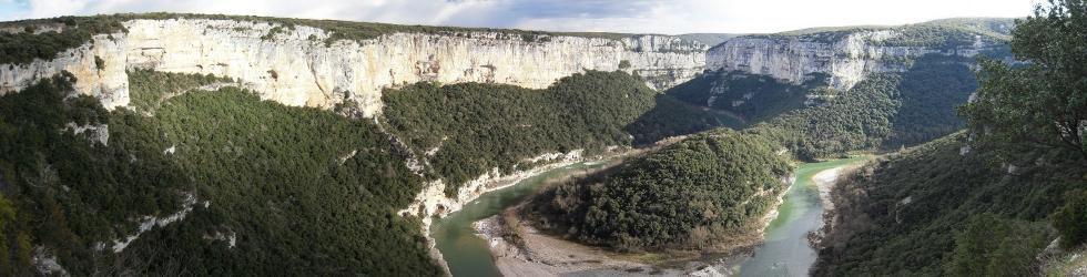 Ardèche Gard Vaucluse - Excursion Gorges de l\'Ardèche