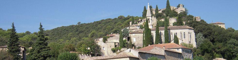 Ardèche Gard Vaucluse - Excursion Village Medieval Montclus dans le Gard