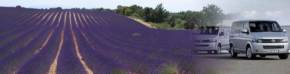 Général - Transfert and Private tours Lavender fields in Rhône Alpes
