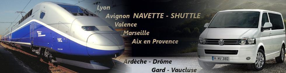 Général - Transfert Gares Rhône Alpes Ardèche
